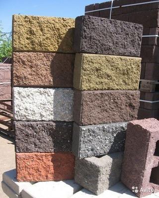 Блоки для забора декоративные