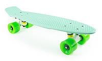 Скоростной Скейт Fish Skateboards Original Replica «Мятный» 22″ / пенниборд (penny board), скейтборд