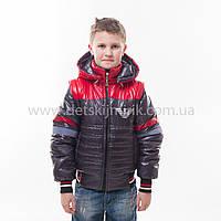 "Демисезонная куртка трансформер для мальчика ""Армани, фото 1"
