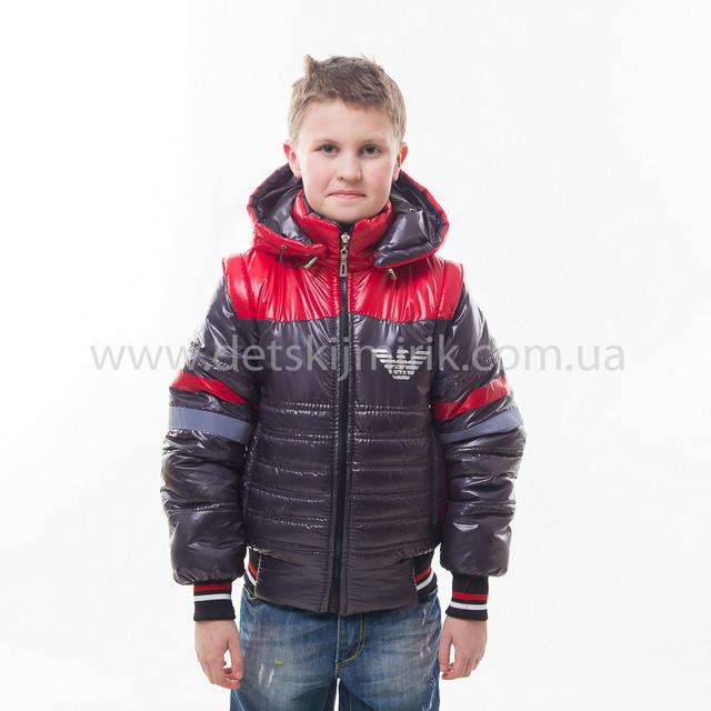 ea6b401dd82d Демисезонная куртка трансформер для мальчика