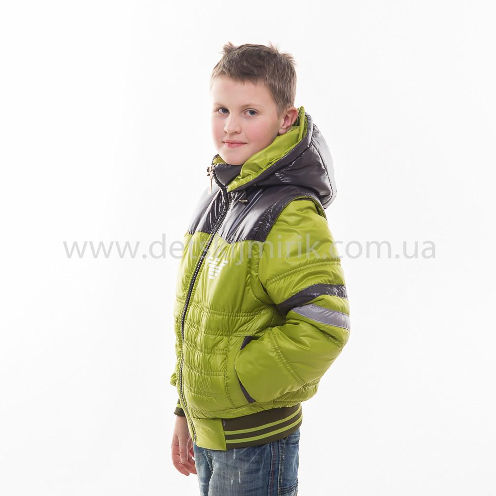 b0c2e69be0ef Демисезонная куртка трансформер для мальчика