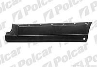 Боковина левая (ремкомплект) с отв накладки 1490/350 Mercedes Vito 638 Polcar