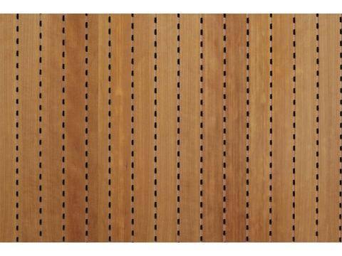 Decor Acoustic Вишня Акустическая перфорированная панель на основе MDF, фото 2