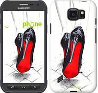 "Чехол на Samsung Galaxy S6 active G890 Devil Wears Louboutin ""2834u-331"""