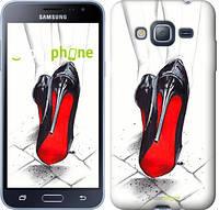 "Чехол на Samsung Galaxy J3 Duos (2016) J320H Devil Wears Louboutin ""2834c-265"""