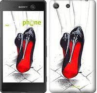 "Чехол на Sony Xperia M5 Devil Wears Louboutin ""2834c-217"""
