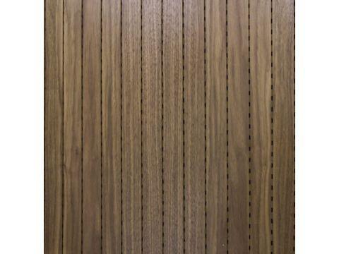 """Decor Acoustic Орех Натуральный шпон ореха Акустическая перфорированная панель на основе MDF -  """"Кубометр"""" интернет-магазин звукоизоляционных и строительных материалов в Днепре"""