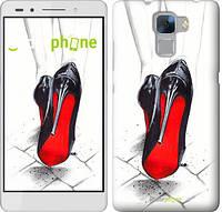 "Чехол на Huawei Honor 7 Devil Wears Louboutin ""2834u-138"""