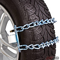 Цепи-браслеты на колеса MODEL3 размер ✓ 4шт.в пластиковом боксе