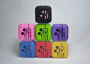 Наушники Xiaomi металл с микрофоном
