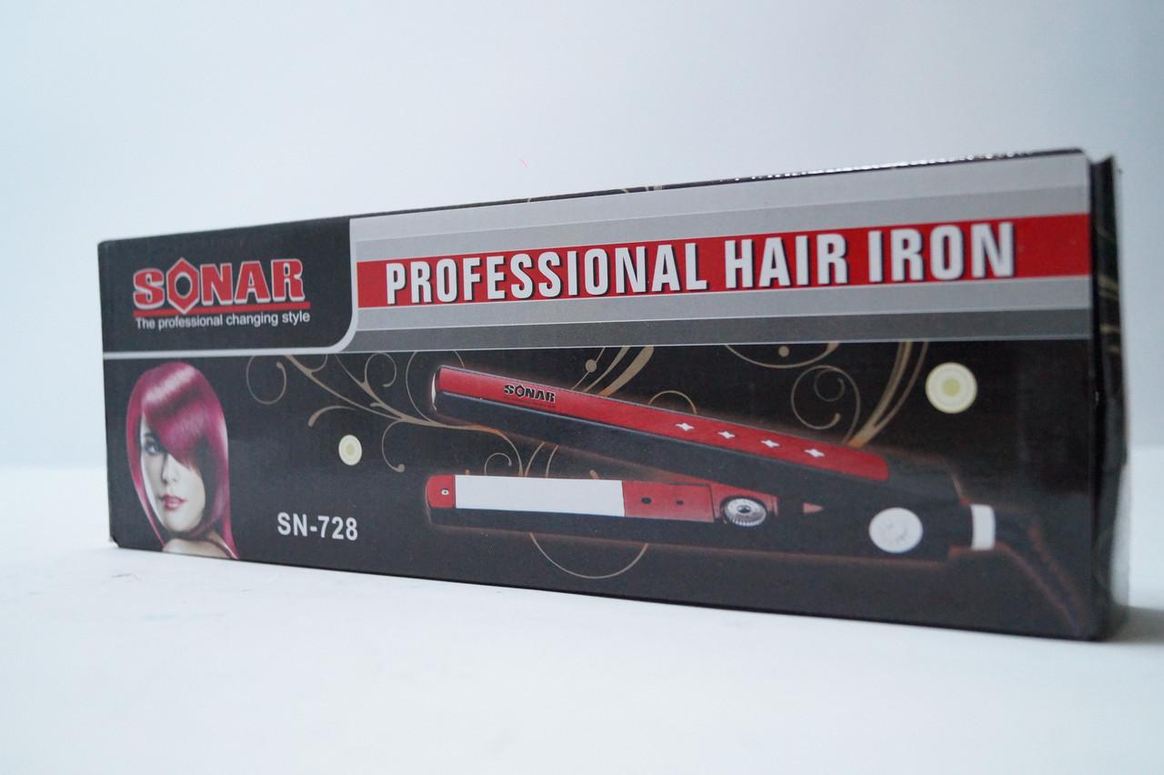 Стайлер для выравнивания волос Sonar  SN-728