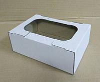 Мини-лоток кондитерский для печенья, зефира и пироженых, 160х110х55 мм, белый