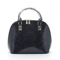 Женская сумка узор черная