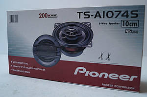 Автомобильные колонки Pioneer TS-1074 10 СМ