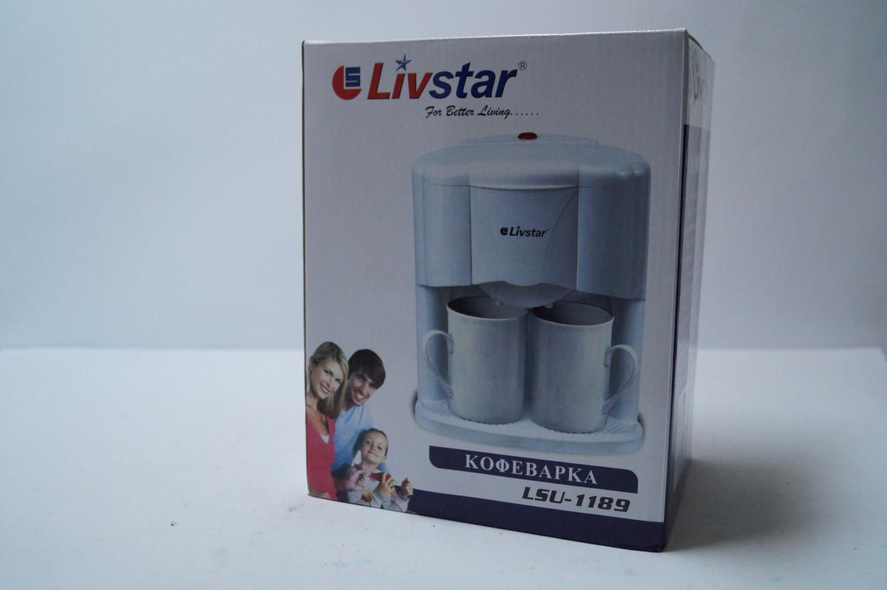 Електрична Кавоварка Livstar LSU 1189 на 2 чашки