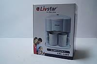 Електрична Кавоварка Livstar LSU 1189 на 2 чашки, фото 1