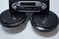 Авто Магнитола касетная elbee E3303  SP + колонки, фото 1