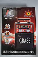 Портативна колонка SD/USB KN-781 karaoke, фото 1