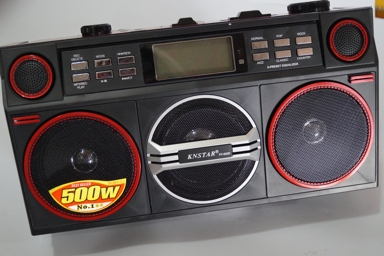 Портативна колонка Knstar FP 650R