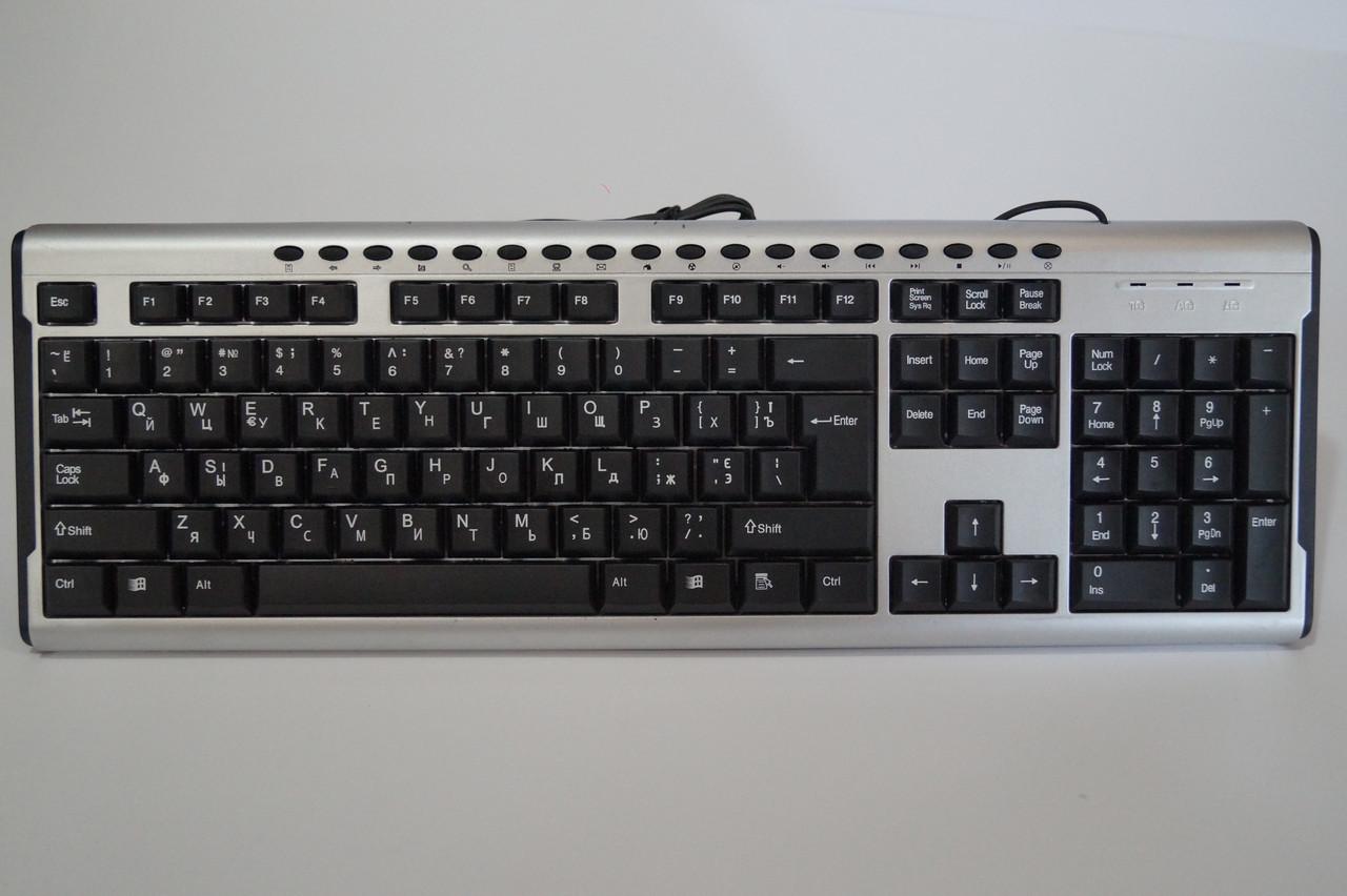 USB Клавіатура Keybord PC 2 167