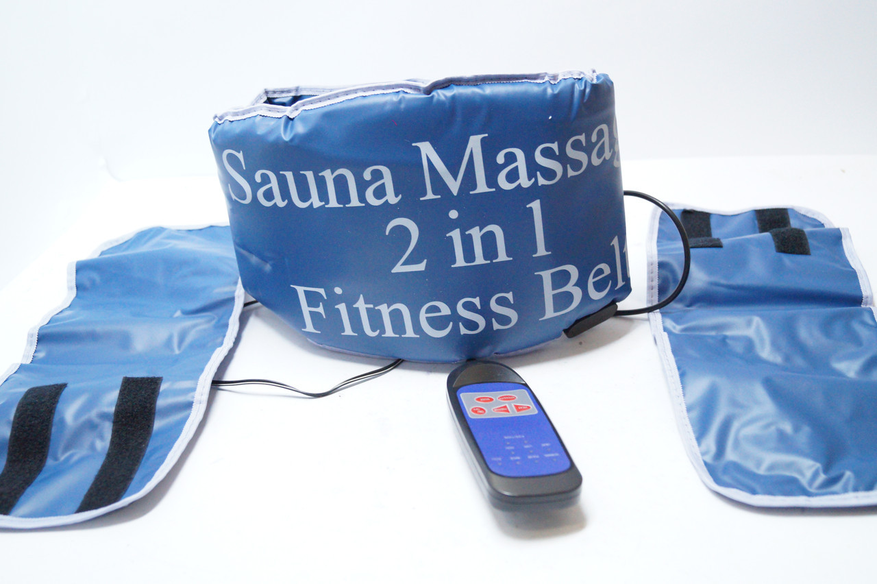 Sauna Massage Пояс-масажер 2 in 1 fitness Belt (Сауна Фітнес)