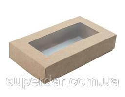 Коробка для пряників 150х80х30 мм., крафт