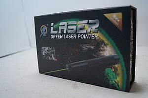 Лазерная указка HJ-308 с защитой от детей насадкой звездное небо зл