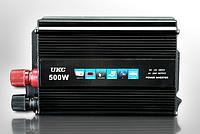 Инвентор напряжения 500w, преобразователь UKC  12/220 500w