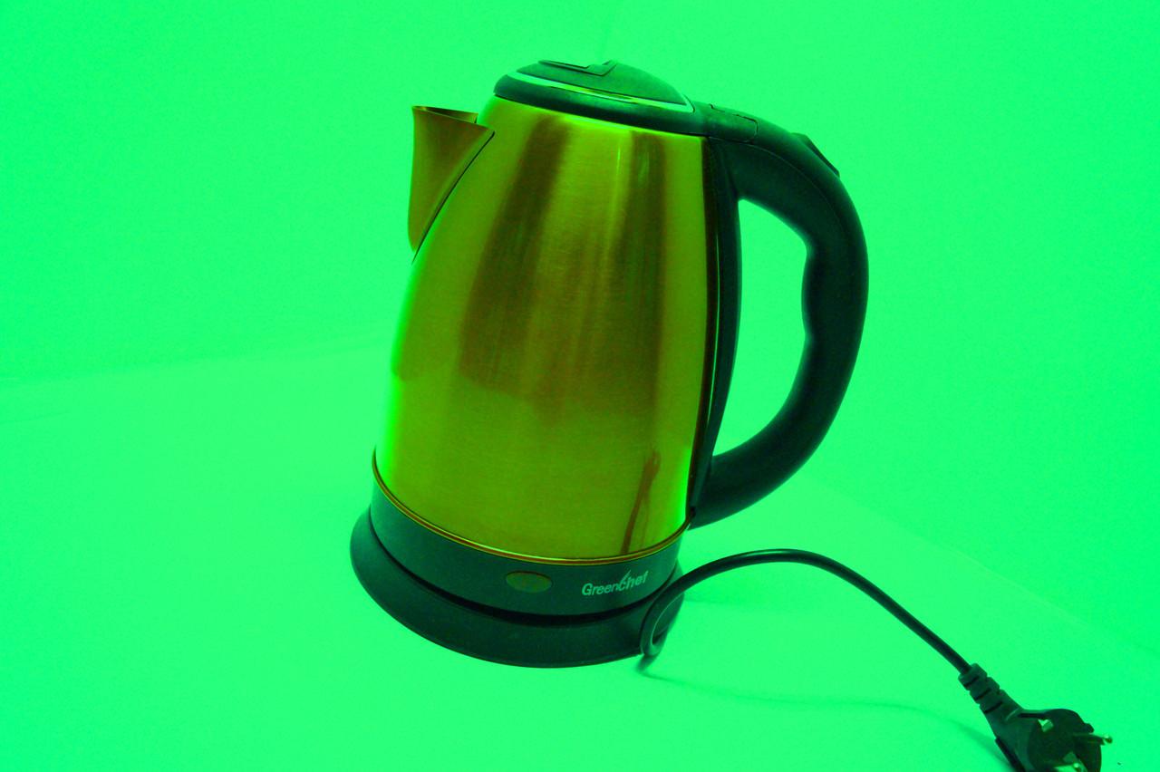 Дисковый чайник Gereenchef KT-18L GREEN
