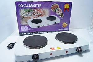 Електрична плита 2 дискова Royal-Master 2020A 2000w