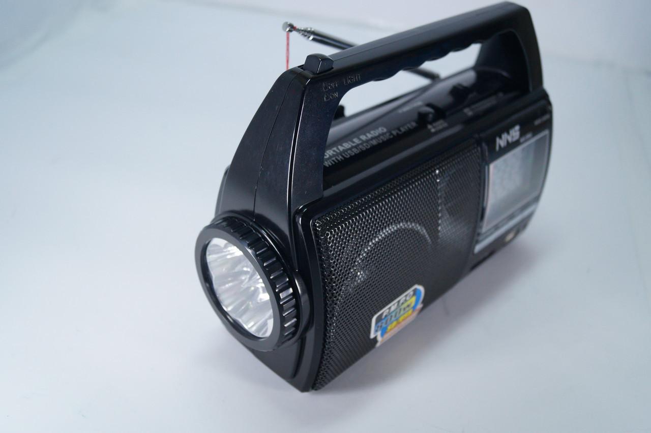 Радіоприймач c ліхтарем NNS c SD/USB NS-09U