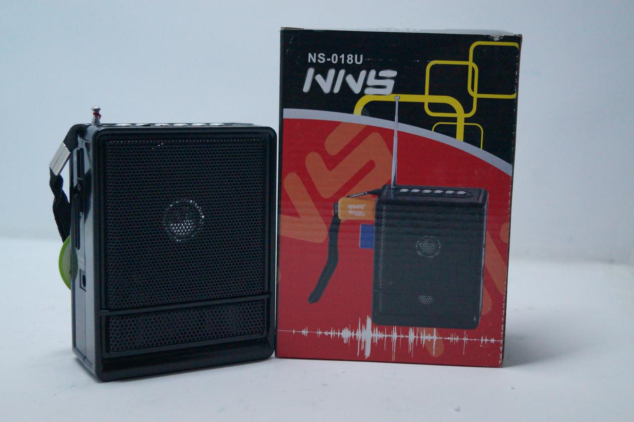 Радіоприймач NNS c SD/USB NS-018u