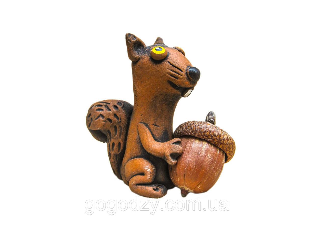 Керамічна фігурка Білочка