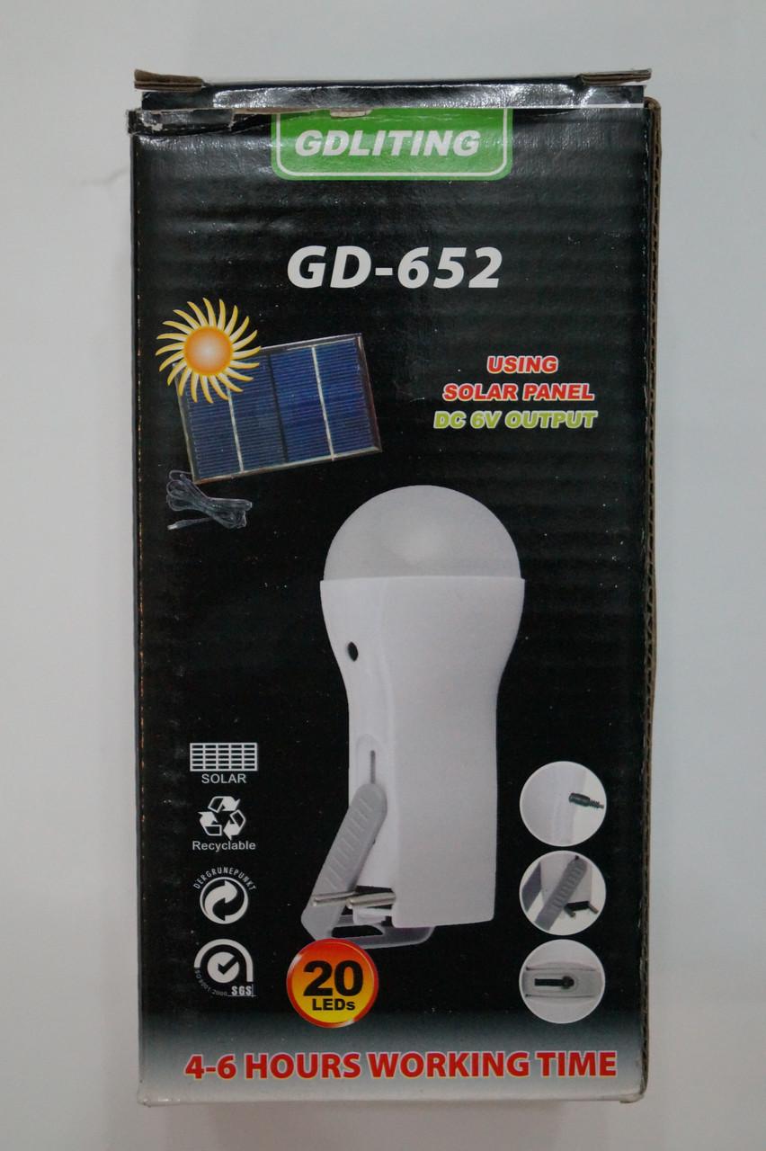 GD LITE-652 20 LED Светодиодный переносной  Лампа-фонарь