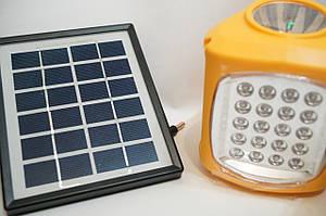 MOD 7655 Портативний світлодіодний ліхтар на сонячній батаее і акумуляторе з MP3 програвач і радіо