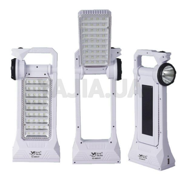 Переносний світлодіодний Світильник-Led Yajia YJ 6851 T