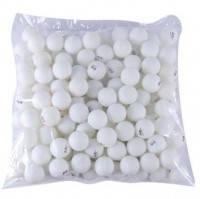 Шарики Stiga (144шт в пакете)  белые 3***