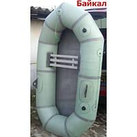 """Резиновая надувная лодка Лисичанка """"Байкал"""" с увеличенным баллоном."""