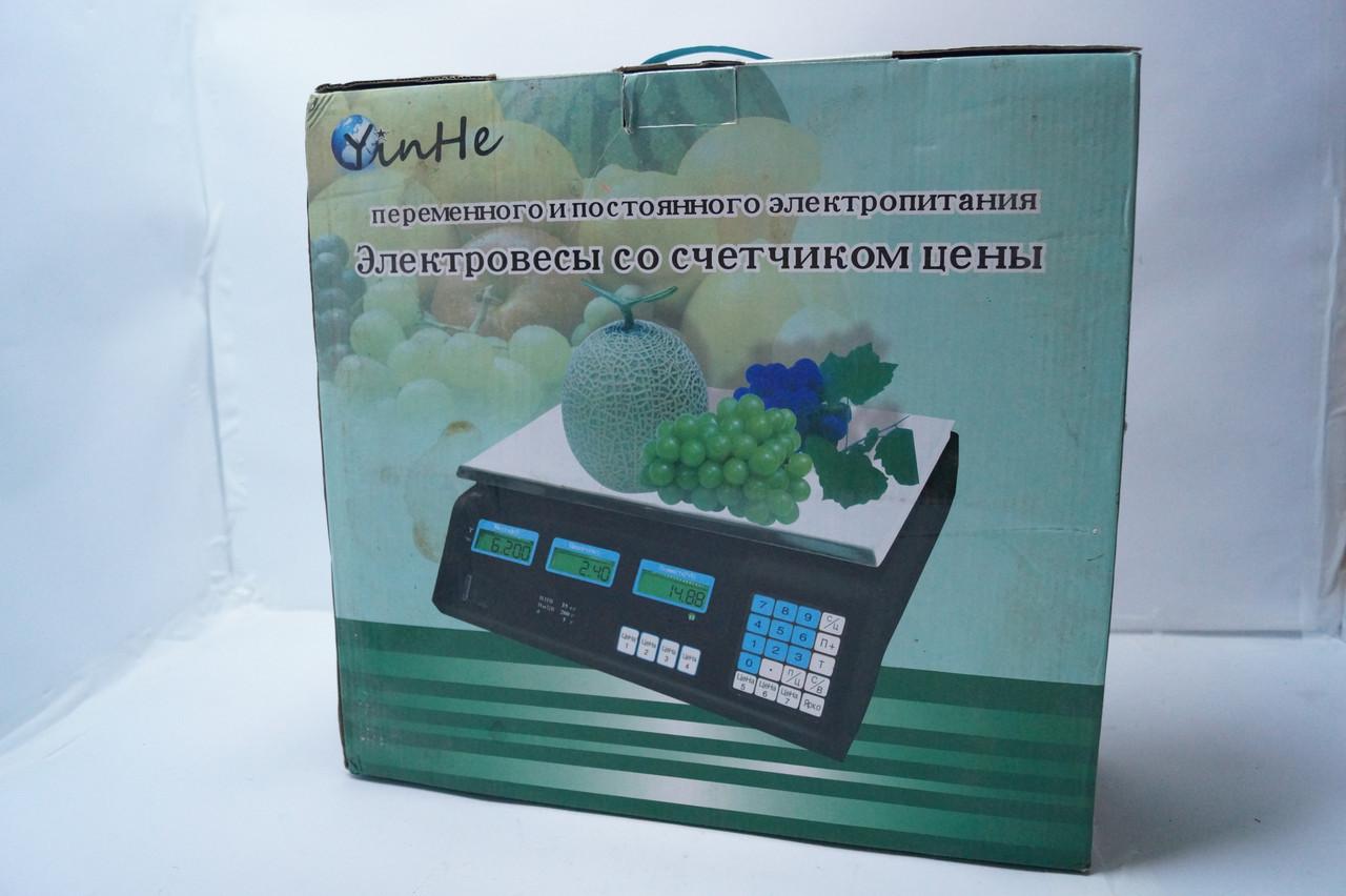 Весы торговые YinHe M1 35 кг с счетчиком цены