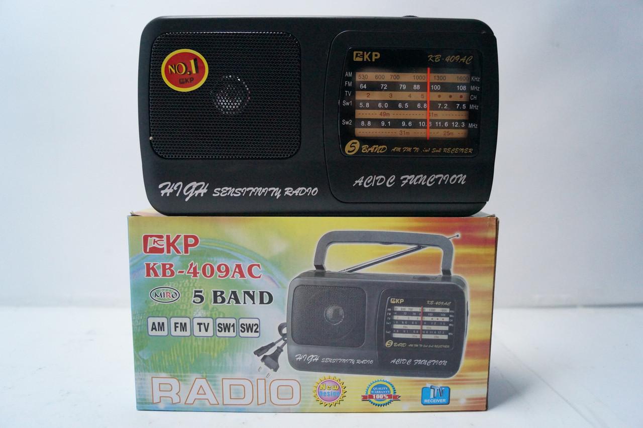 Радіоприймач Kipo kB -409AC