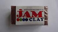 """Запекаемая полимерная глина (пластика)""""Молочный шоколад"""" Jam Clay,20гр.Пластика запекаемая Jam Clay.Полимерная"""