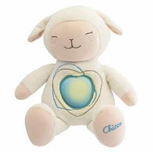 Ночник игрушка музыкальный Любимая овечка Chicco 60048
