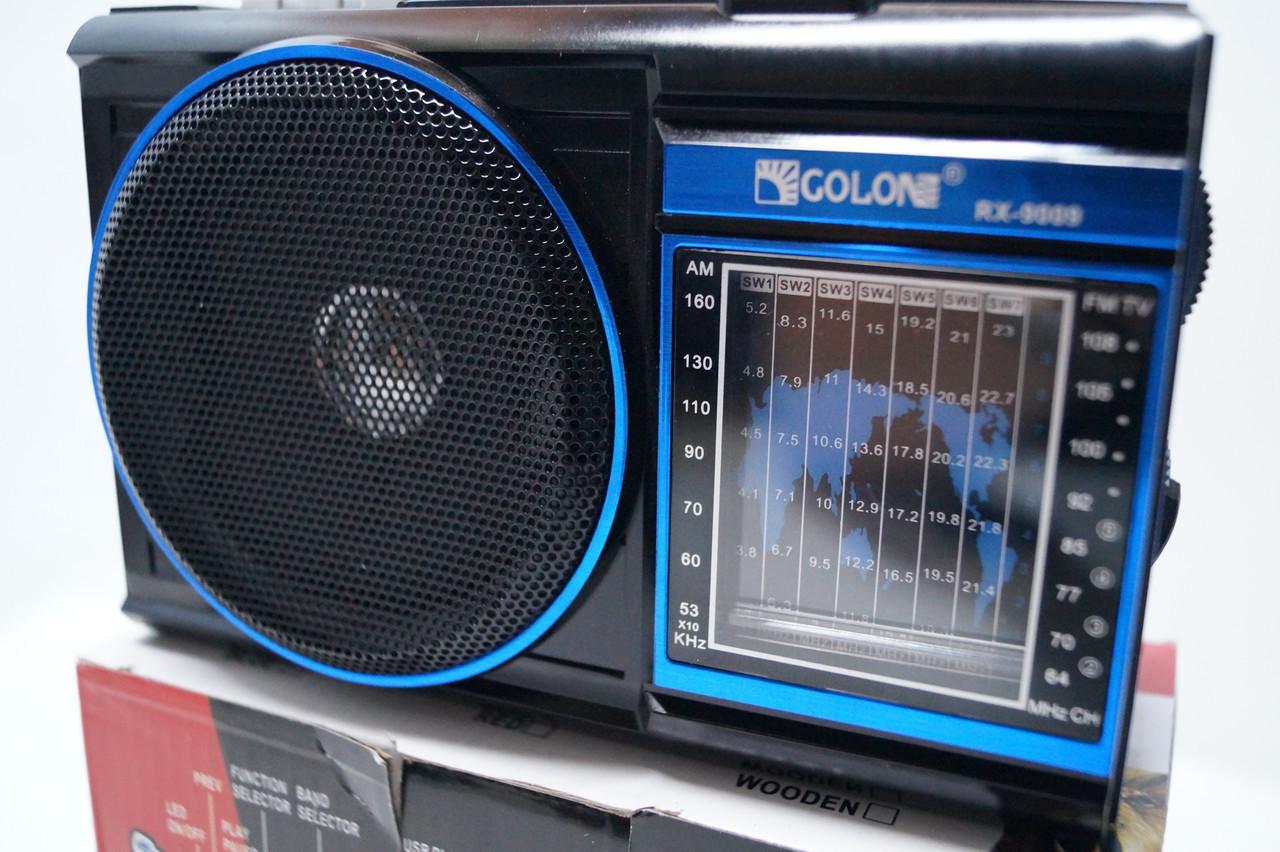 Радиоприемник Golon RX-9009  SD/USB, фото 1