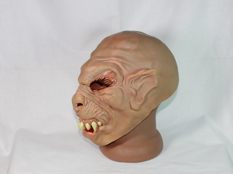 Страшная маска Зубастый старый