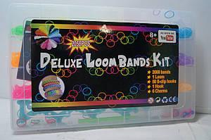 Набор цветных резинок для плетения браслетов Deluxe Loom Bands Kit