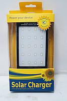 Power Bank 2A +1A c солнечной батареей и LED светильником, фото 1