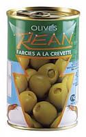 Оливки Rean зелені фаршировані