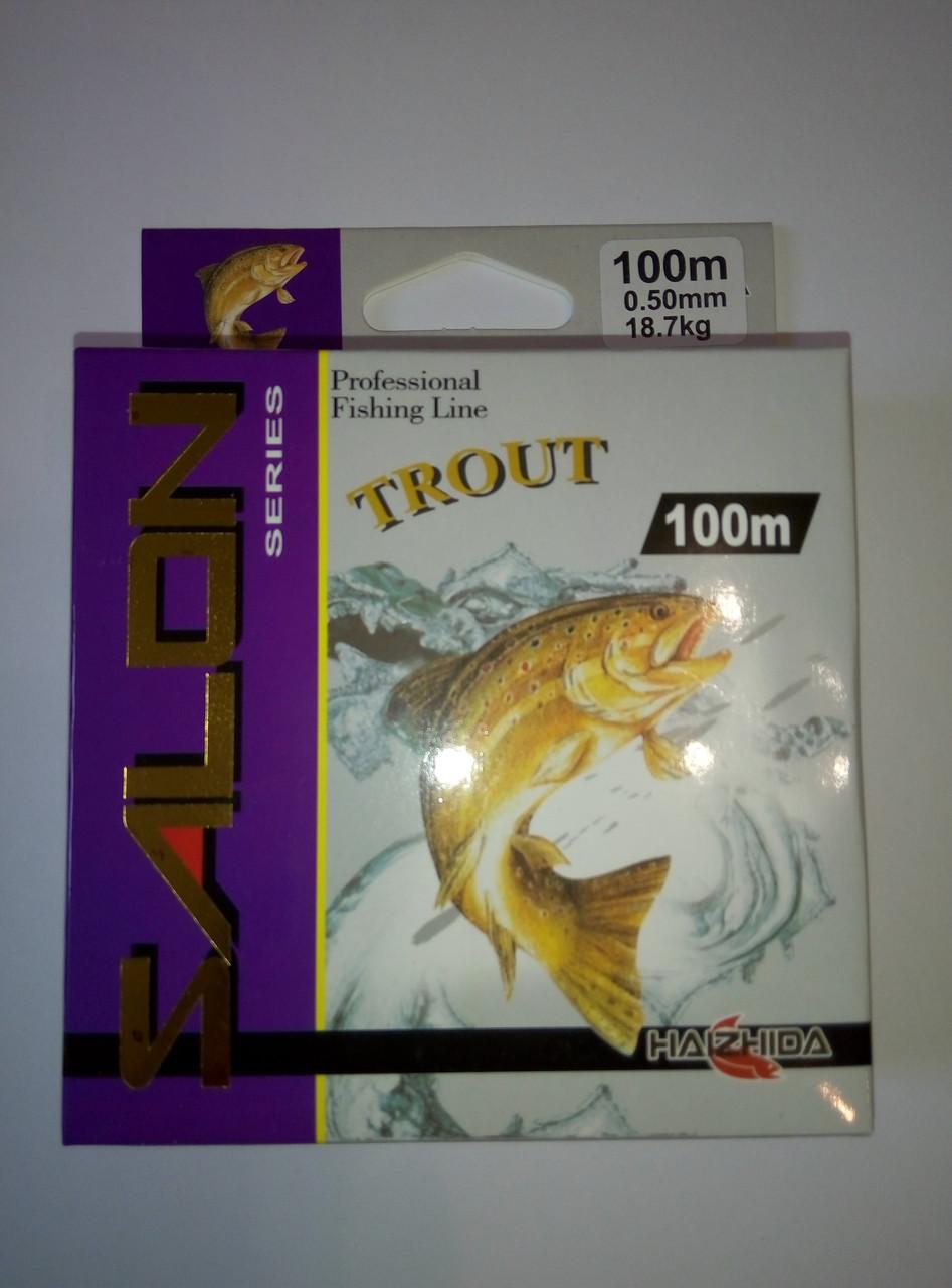 Леска SALON 100m  (0.18mm  3.8kg)
