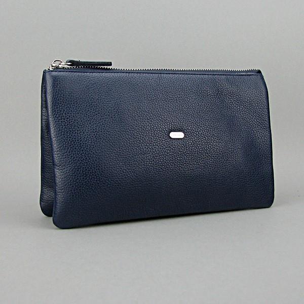 Женский клатч кожаный clutch Desisan синий 070 Турция
