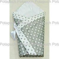Конверт-одеяло на выписку Звездное небо